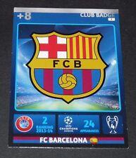 ECUSSON FC BARCELONA Barça UEFA PANINI FOOTBALL CHAMPIONS LEAGUE 2014 2015
