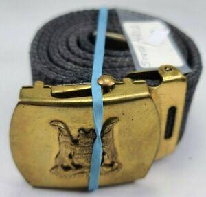 Vintage Original SOUTH AFRICA Military Belt & Buckle HR78