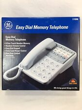 GE General Electric 2-9268 Big Button Corded Easy Dial Memory Telephone