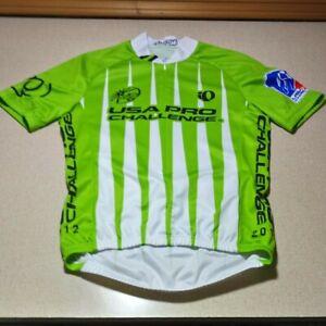 Vintage 2012 Pearl Izumi Custom USA PRO Challenge UCI Tour Cycling Jersey Small