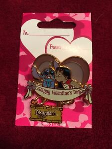 Disney  DLR - Valentine's Day 2006 (Lilo and Stitch) pin