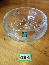 Good Quality Cut glass Thomas Webb crystal glass BOWL 20cm across 9.5 Cm Deep