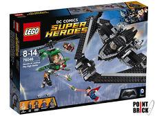 LEGO 76046 DC COMICS SUPER HEROES Battaglia nei cieli - Superman Batman Batwing