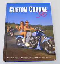 1996 Custom Chrome Catalog Harley Davidson Motorcycles Parts & Accessories Book