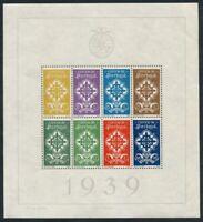 Portugal 1940; Portugiesische Legion, Blockausgabe - Michel Nr. 1, KW € 900
