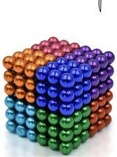 5mm Magnetic Fidget Building Stress Relief 8-Colors Ball Kids Adult -216 Pcs