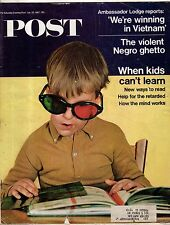 1967 Saturday Evening Post July 29 - We're winning in Viet Nam; Autism, ADD;