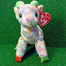 MWMT Rare Ty Beanie Baby 2000 Zodiac Goat New Retired Plush Toy - FREE Shipping