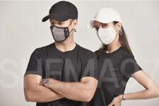 Shema97 Active Mask-NCAA Basketball coaches Wearing-Black Large now with lanyard