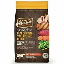 Merrick Grain Free Chicken Dry Food for Dog - 25lbs.