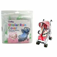 Rain Cover Raincover For Pushchair Stroller Baby Car Clear Fits Most Strollers