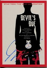 Star Trek TNG Portfolio Prints Auto Parallel Base Card #87 Devil's Due