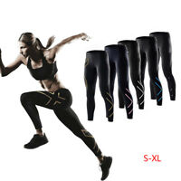 Women Quick-dry Compression Tights Lightweight Base Layer Long Pants Sports S-XL