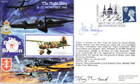 RAFA 19 WWII Battle of Britain Night Blitz RAF cover signed CUNNINGHAM DSO DFC