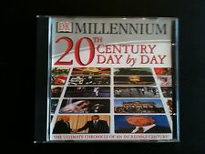 DK Millennium 20th Century Day by Day  PC CD - UNUSED - VGC