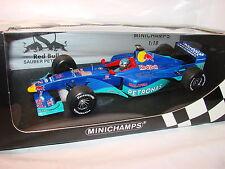 1/18 Jean Alesi propre Ferrari Petronas c18 RED BULL 1999 MINICHAMPS