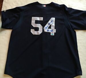 Goose Gossage Signed majestic warmup Yankees Jersey goose holo coa HOF 2008 auto