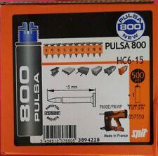 Clou Spit Pulsa 800 - HC6 15. Mais Aussi En C6 20 - C6 40 FH