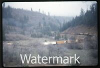 1972 35mm photo slide  Railroad train  Cantara Loop    RR72