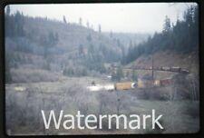 1972 35mm photo slide  Railroad train  Cantara Loop    RR72
