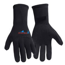 3mm Neoprene Wetsuit Gloves Kayak Diving Winter Swimming Surfing Adult Size M