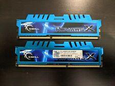 G. SKILL Ripjaws X 8GB (4Gx2) 1600 MHz PC3-14900 DDR3-1866 SDRAM Memory