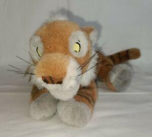 "Disney Store Baby Shere Khan Laying 12"" Jungle Book Sherekahan Rare Vintage NWT"