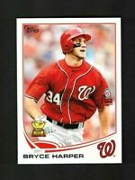 2013 Topps  #1 BRYCE HARPER All-Star Rookie Cup - MINT