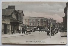 Balham Railway Station,  Wykeham collection postcard postally used 1905