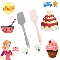 HIGH QUALITY Trend Silicone Spatula Bowl Scraper Cooking Baking Cake PICK COLOUR