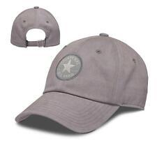 CONVERSE MENS BASEBALL CAP.MASON GREY COTTON STRAPBACK ADJUSTABLE SNAPBACK HAT 8