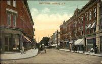 Ossining NY Main St. c1910 Postcard