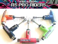 RS PRO RIDERS TOOL BEST QUALITY SILVER SKATE TOOL SKATEBOARD LONGBOARD