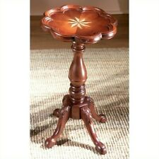 Butler Specialty Round Accent Scatter Table in Plantation Cherry