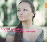JULIA/MINKOWSKI,MARC/SINFONIA VARSOVIA LEZHNEVA - OPERNARIEN  CD NEU ROSSINI