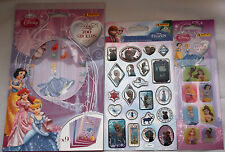 "* Disney PRINCESS * Sticker-BLOCCO ** 3d-Crystal-Glitter-stick ""la regina ** NUOVO **"