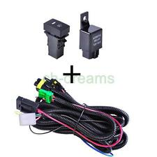 For Ford Fog Light Wiring Harness Sockets Wire LED indicators Switch & Relay