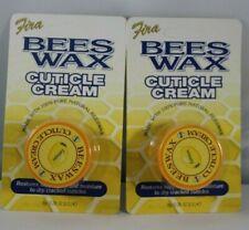 New Fira Pure Natural Bees Wax Cuticle Cream Lemon Lot of 2