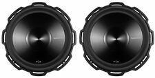 "2 Rockford Fosgate Punch P3D2-15 15"" 2400 Watt Dual 2 Ohm Car Subwoofers Subs"