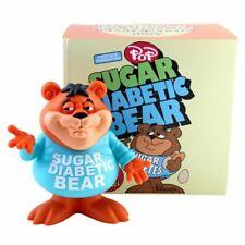"Popaganda Ron English Cereal Killers SUGAR DIABETIC BEAR 8"" Vinyl Figure"