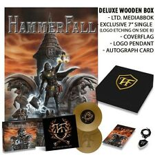 Hammerfall - Built To Last  LTD Deluxe Wooden Box (Only 1000 made) OOP - Signed