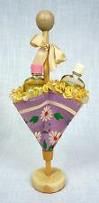 Vintage Karoff Parasol Umbrella Novelty Perfume Vintage 1940s with 3 Bottles
