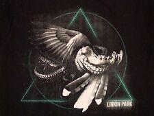 Linkin Park Heavy Metal Punk Rock Black T Shirt M