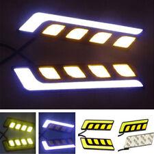 Dual Color LED Fog Lamp Daytime Running Light + Turn Signal Amber Switchback