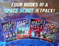 H Badger SPACE SCOUT(4x Books+JET PACK)*NEW+SEALED*Big Freeze/Jelly/ZAC POWER