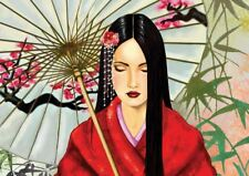Geisha arte giapponese POSTER a3 stampa yf1138