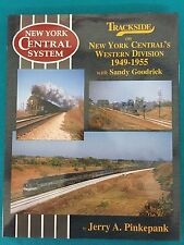 063 Trackside on the NY Central Western Division 1949-1955 Morning Sun Book NEW