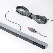 New Wired Infrared IR Signal Ray Sensor Bar/Receiver for Nitendo Wii Remote Q9