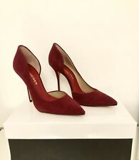 Kurt Geiger London Anja Burgundy Heels Size 5 38 Wine Court Shoes RRP £199 BNIB