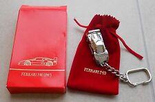 Ferrari F40 Bburago Schlüsselanhänger Key Fob Porte Clefs Portachiavi buch press